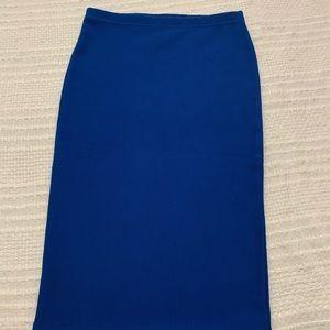 Forever 21 royal blue pencil skirt  size: S